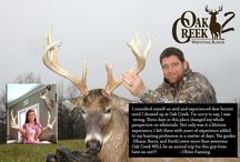 2014 Oak Creek Ranch Testamonials / Here is the place to check out what other hunters have said about their time here at Oak Creek.