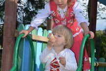 Dzieci góralskie na zjeździe rodu