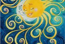 Arte / Sol y Luna de cuento