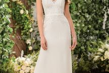Sweet & Simple Wedding / Jasmine Bridal dresses that showcase simplicity at its best, along with inspiration for that beautifully simple wedding.