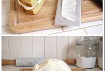 ciasta, sztuka układania potraw
