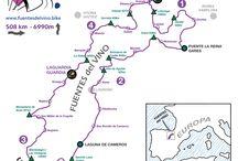 Cycle tourism route FUENTES del VINO / Maps, profiles and route sheets of the 4 days cycle tourism route: FUENTES del VINO Aralar - Urbión Mapas, perfiles y hojas de ruta de la ruta de cicloturismo de 4 días FUENTES del VINO Aralar - Urbión
