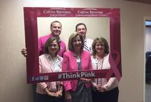 #ThinkPink 2015 / Capital Regional Medical Center celebrates the beginning of Breast Cancer Awareness month by posing with our #ThinkPink frame.