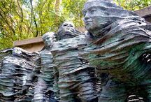 Relaxing with art at Nu Art Sculpture Park