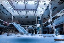 Abandoned malls, houses, that I want to go