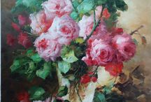 Flower Painting,order hand painted oil painting from China studio / Purshase painting. Site:http://www.oil-painting-china.com Our mail: info@oil-painting-china.com
