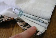 Sewing home decor & crafts / Sewing curtains, drapes, table skirts, etc. / by Suzanne Eller