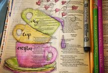 Bible Journaling / This looks like a fun way to study scripture!