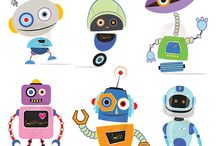 robots & monsters