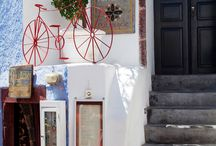 Red Bicycle Oia, Santorini