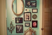Home - decorating. Wall gallery
