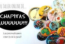 Chapas Personalizadas / Somos tu Taller Online de Chapas Personalizadas. Las personalizamos como te de la gana! ;)