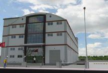 Industrial Buildings / Sanayi Yapıları I / 2000-3000m² Sanayi Arsaları Üzerinde Bina Denemeleri