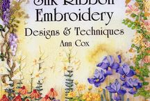Silk ribbon embroidery / Book by Ann Cox