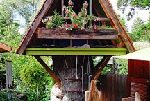 Vytina Camping / Tree houses - hobit houses - elvin houses
