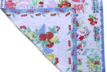 Quilts----Recycled Table Linen
