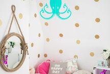 HOME ~ Girls Gold Bedroom