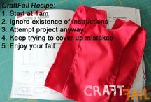 Craft Fails  / by Kim only4thatgirl