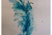 *Watercolor tattoo