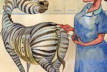 """Netty, NET-kreft sebra / """"Netty"""" the zebra, er det internasjonale symbolet for NET-kreft"""