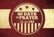 40 Days of Prayer / Prayer is the foundation of our lives!