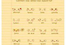 French - Vocab (Descriptions) / by Jenn Campanella