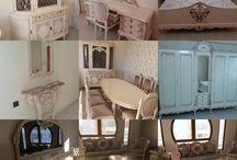 mobilya boya ve döşeme