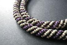 Russian spiral rope / Russian spiral rope - inspirations and tutorials