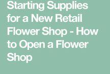 Flower shop girl
