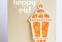 Postcard happy eid / Postcard
