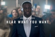 Draymond Green x Hear What You Want / Second-rounder. Too big. Hot head. Everyone has something to say about Draymond Green this season, but he's only focused on the next win. Listening to tracks in the Beats Solo2 Wireless keep it that way.