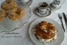 Pastas, Rosquillas y Galletas / Pastas y dulces para la hora del Té y el Café