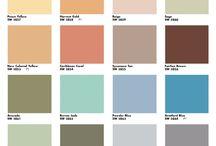Mid Century Modern colours