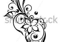 Ornamenty / Vysivky