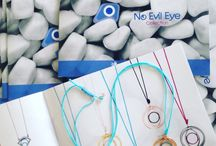 Omikron collection no evil eye / Jewelry with eye theme silver 925