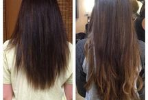 Hair Extensions / Get the hair length you have always wanted with Sorelli's Certified Extension Specialists
