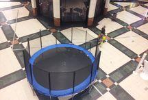 Trampoliny na wynajem / Wynajem trampolin Warszawa 600950777