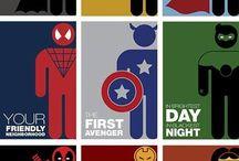 Superheroes!!! Both DC and Marval! / Favorite heroes