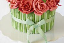 róże tort