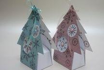 vánoce papír