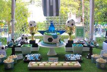 Soccer theme babyshower