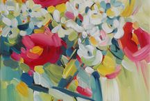 Florals / Floral artwork by SANTINI GALLERY artists.