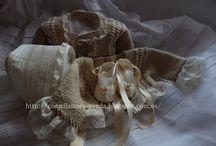 Punto para bebes / Chaquetas rebecas y jersecitos , todo para bebes y niños. Hecho a mano    http://conmilamoresyseda.blogspot.com.es/