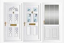 Upvc Front & Back Doors / Upvc front doors and back doors fitted to homes across the UK. Pvcu doors delivered free, or professionally installed by upvc door experts at Just Value Doors