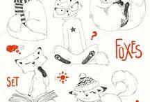 лиса ,fox