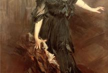 Giovanni Boldini / Italian genre and portrait painter (1842 – 1931)
