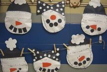 Letter S: snowmen / by Izzie, Mac and Me