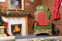 Santa's Grotto / ideas for creating our grotto