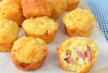 bacon kaas muffins