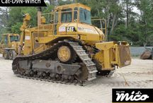 CAT D9N WINCH / This Used Caterpillar Crawler Dozer D9N Winch Is Included On Three Units. It Has A Wire Rope And A Hook. It Has No Leakage Or Damaged Corner And Also Suites With D8R, D9N, D9R, D10N, D10R.